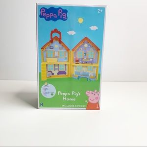 PEPPA PIG'S HOME 8 PIECE SET